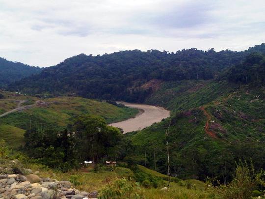 Avance de la deforestación de la comunidad