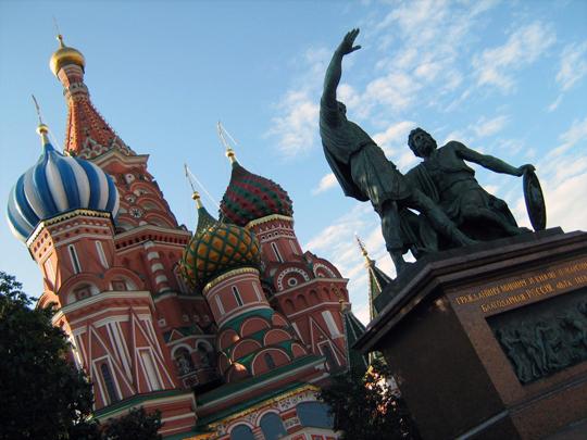 Catedral de San Basilio en Moscú por stagod
