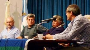 Imagen de la presentación del Informe en Neuquén