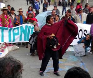 Marcha indígena contra el TIPNIS llega a La Paz