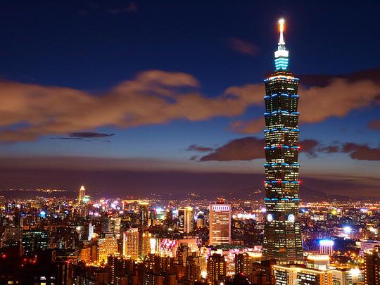 El Taipei 101 fue hasta 2010 el edificio más alto del mundo