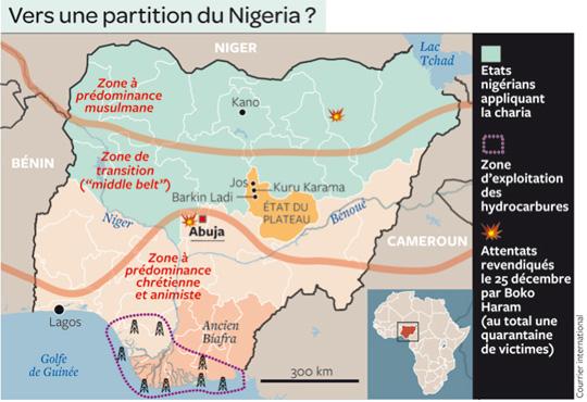¿Hacia una participación de Nigeria?: Courrier International