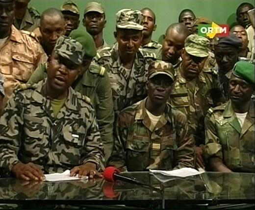Militares golpistas de Malí
