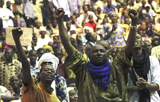 Golpistas en Malí