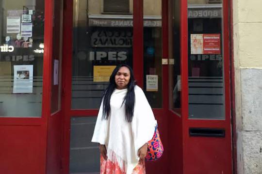 Yasmin Romero Epiayu en IPES